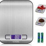 Balanza de cocina silfab digital steel slim bc305 antihuellas