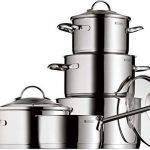 Bateria de cocina en acero inoxidable
