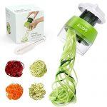 Cortador de verduras electrico en espiral